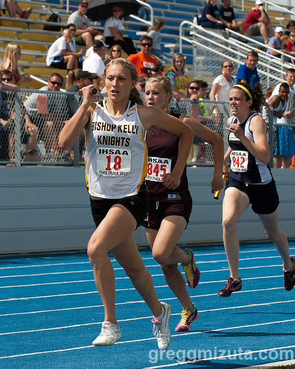 Idaho High School 4A 2012 Track and Field Championships on May 19, 2012 at Middleton High School, Middleton, Idaho.