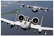 A10 with C130H Low Level Flying