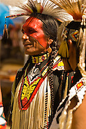 Sioux Traditional Dancer, Crow Fair, powwow, Crow Indian Reservation, Montana