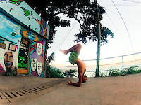 Agustin Aguerreberry at Vidigal, Rio de Janeiro