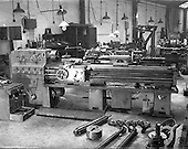 1953 - Machinery at Summerhill Engineering Works, Dublin