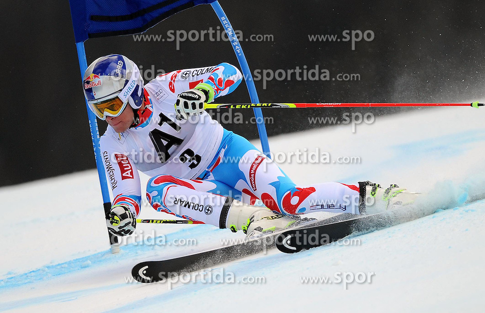 07.12.2014, Birds of Prey Course, Beaver Creek, USA, FIS Weltcup Ski Alpin, Beaver Creek, Herren, Riesenslalom, 1. Lauf, im Bild Alexis Pinturault (FRA) // Alexis Pinturault of France in actionduring the 1st run of men's Giant Slalom of FIS Ski World Cup at the Birds of Prey Course in Beaver Creek, United States on 2014/12/07. EXPA Pictures © 2014, PhotoCredit: EXPA/ Erich Spiess