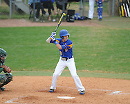 Oxford High's Brooks Krouse (9) vs. West Point in Oxford, Miss., on Tuesday, April 2, 2014. Oxford High won 10-0.