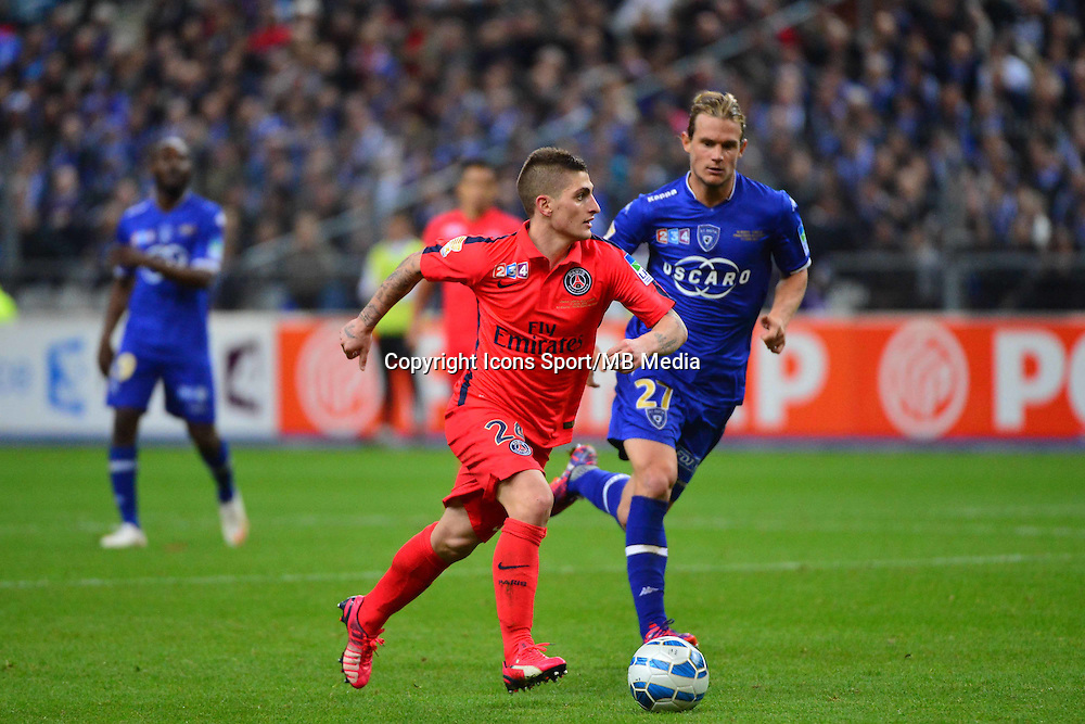 Marco VERRATTI    - 11.04.2015 -  Bastia / PSG - Finale de la Coupe de la Ligue 2015<br />