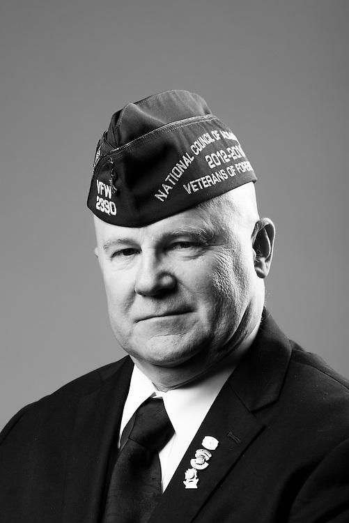 Michael K. Nuckolls<br /> Army<br /> E-4<br /> Auto Weapons Crewman<br /> Aug. 1967 - Aug. 1969<br /> Vietnam<br /> <br /> Veterans Portrait Project<br /> St. Louis, MO