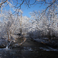 Arkansas Creek, Winter