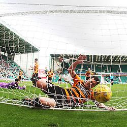 Hibernian 3 v 0 Alloa Athletic, Scottish Championship, 2/9/2015.
