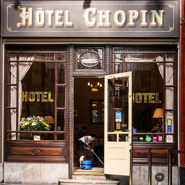 Hotel Chopin Photo Art By David Innes