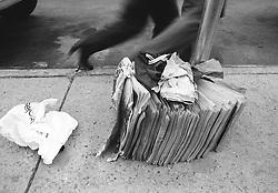 Circa 1979 - New York, NY - Curbside Recycling