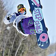 Ian Stewart/Yukon News<br /> Trevor Niblett of Ontario shows off his skills.