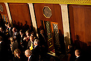 Republican Congressmen are sworn in at the beginning of the 112th Congress at the United States Capital in Washington, DC on Wednesday, January 5, 2011.