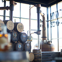 Alltech Brewing and Distilling Company, where bourbons and ales are crafted in Lexington, Ky., Friday, December 4, 2015. (Photo by David Stephenson)