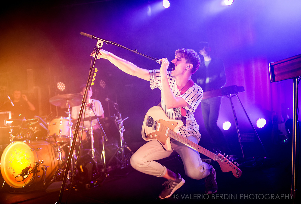Glass Animals live at the Junction in Cambridge, UK.