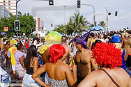Rio de Janeiro, Strassen Karneval, Brasilien