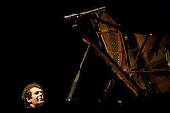 """Portuguese piano player Joao Paulo performing in Coimbra Jazz Festival """"Jazz ao Centro"""". Joao Paulo is one of the talented new generation portuguese jazz players."""