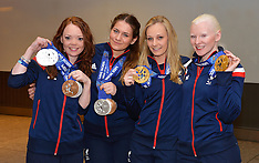 MAR 17 2014 Paralympic Team arrive