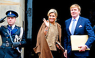 NEW YEARS RECEPTION KING WILLEM ALEXANDER AND QUEEN MAXIMA