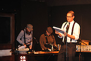 """Bill Dabney as Edward P. Mitchell rehearses for """"Yes Virginia, There Is A Santa Claus"""" at the Powerhouse in Oxford, Miss. on Wednesday, December 12, 2012."""