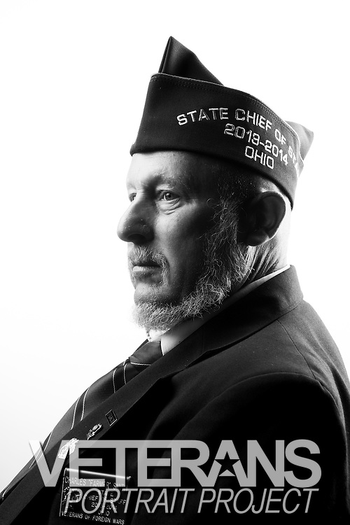 Charles R. Smith<br /> Army<br /> E-5<br /> Personell<br /> 1969-1971<br /> Korea (in support of Vietnam)<br /> <br /> Veterans Portrait Project<br /> Louisville, KY<br /> VFW Convention <br /> (Photos by Stacy L. Pearsall)