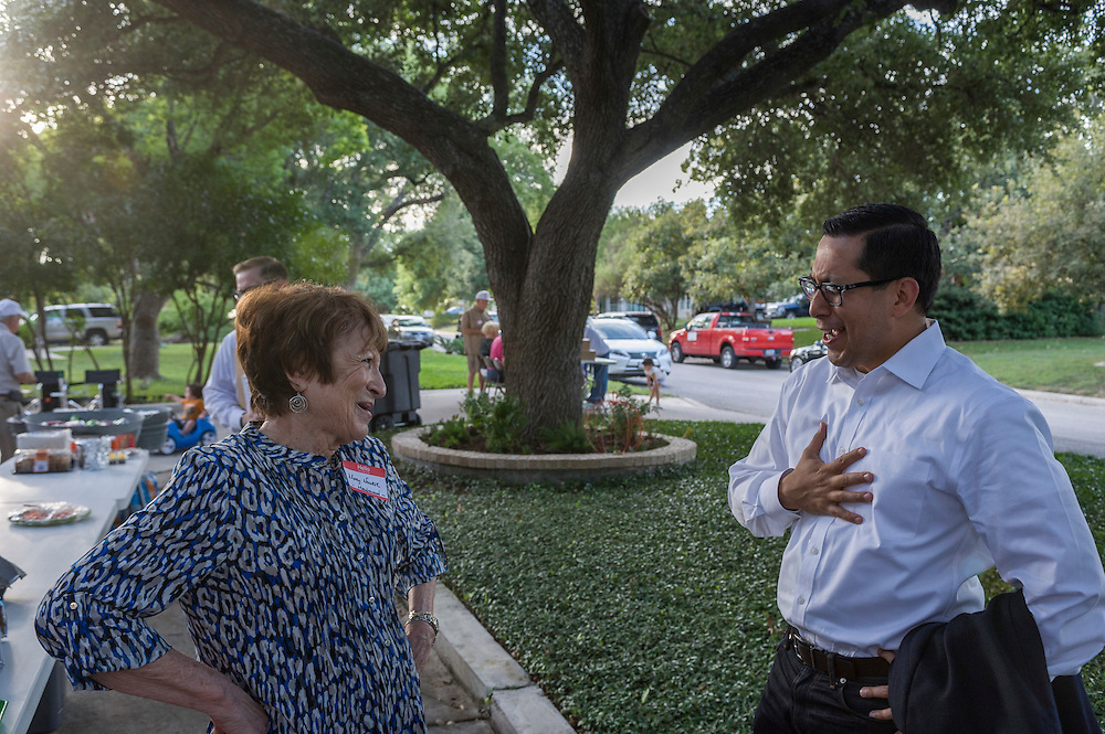 The Sheraer Hills Ridgview Neighborhood Association hosted a celebration for the 2015 National Night Out on October 6, 2015, with festivities including appearances by local and state elected officials, live music, ample food and beverages, and the comraderie of a unique American neighborhood.