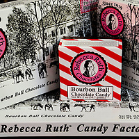 Rebecca Ruth Candy Factory Bourbon Ball Boxes in Frankfort, Kentucky<br />