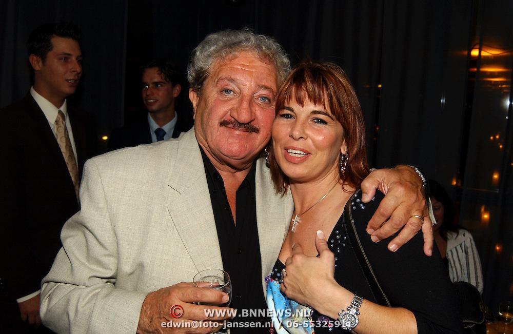 Hans Boskamp 50 jaar in het theatervak, Hans en dochter Ellen