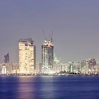 Abu Dhabi, United Arab Emirates 06 April 2009<br /> Abu Dhabi skyline.<br /> Photo: Ezequiel Scagnetti