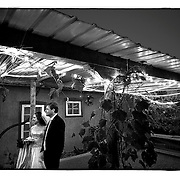 SHOT 10/12/08 7:04:12 PM - Wedding of Anacarmen and David Kilby in Old Town Albuquerque, N.M..(Photo by Marc Piscotty / © 2008)