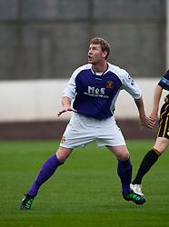 Annan Athletic's Sean O'Connor..Berwick Rangers 0 v 1 Annan Athletic, 1/10/2011..Pic © Michael Schofield.