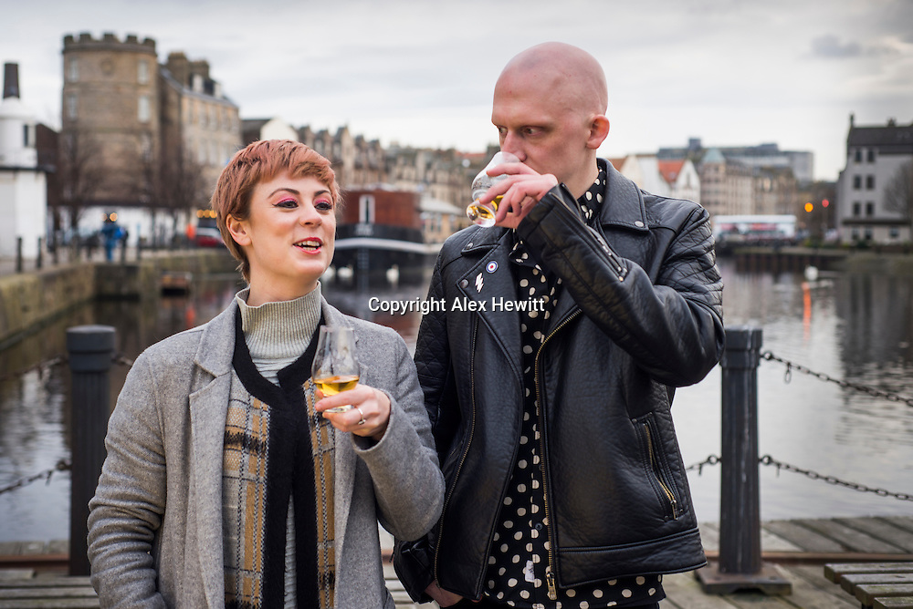 Aly Mathers and Jo Kent. World Whisky Day Ambassadors. Shot on location for White Light Media<br /> <br /> picture by Alex Hewitt<br /> alex.hewitt@gmail.com<br /> 07789 871 540