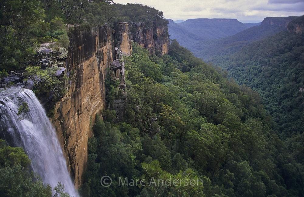 Fitzroy Falls in Morton National Park, NSW, Australia.