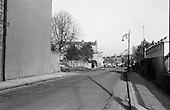 1967 Road widening at Belgrove square in Rathmines