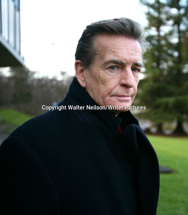 Scottish Author William McIlvanney photographed at the Winter Words Festival in Pitlochry.<br /> <br /> Copyright Walter Neilson/Writer Pictures<br /> contact +44 (0)20 8241 0039<br /> sales@writerpictures.com<br /> www.writerpictures.com