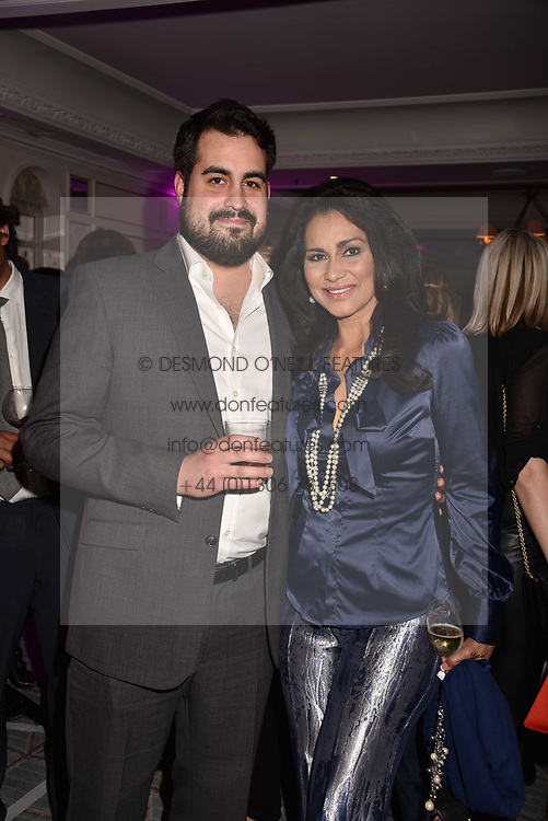 Lady Wilhelmina Forsyth and her son Jonathan Joseph Forsyth at the 2017 Fortnum &amp; Mason Food &amp; Drink Awards held at Fortnum &amp; Mason, Piccadilly London England. 11 May 2017.<br /> Photo by Dominic O'Neill/SilverHub 0203 174 1069 sales@silverhubmedia.com