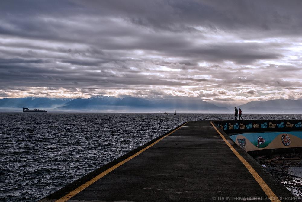 Breakwater, Ogden Point, Victoria, British Columbia, Canada