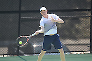 Ole Miss' Johan Backström vs. Baylor at the Palmer/Salloum Tennis Center in Oxford, Miss. on Thursday, March 14, 2013.