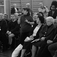 Bertrand  Delanoë (maire de Paris de 2001 à 2014) donne un compte-rendu de son mandat, Paris 5ème / 2004.
