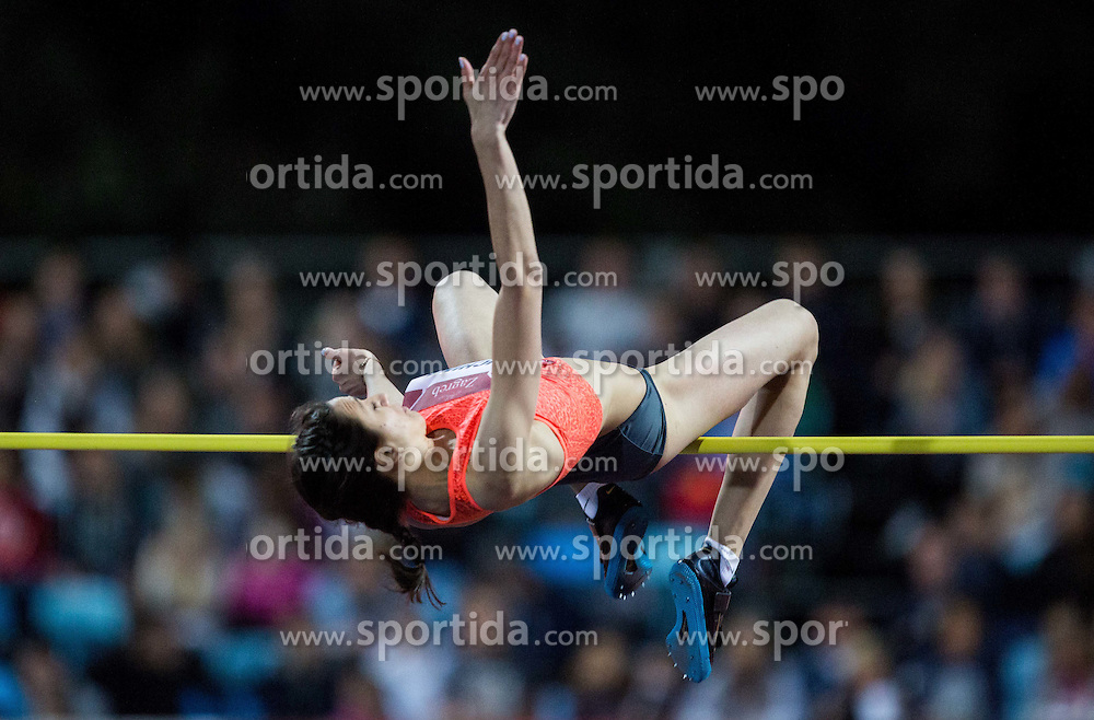 Mariya Kuchina of Russia competes in High Jump Women  during IAAF World Challenge Zagreb - The 65th Hanzekovic Memorial Meeting, on September 8, 2015, in Stadium Mladost, Zagreb, Croatia. Photo by Vid Ponikvar / Sportida