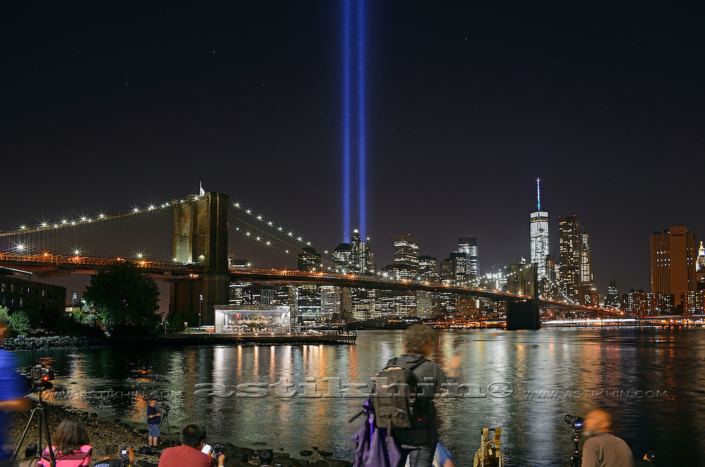 Tribute in Light - We Shall Never Forget.