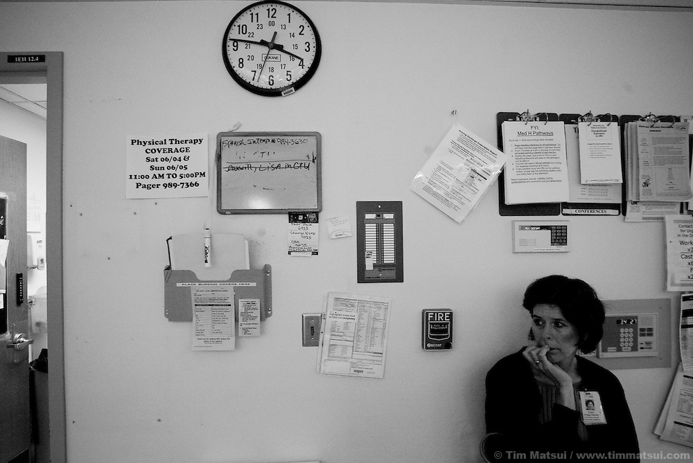 Inside the Harborview Emergency Room in Seattle for the Sexual Assault Nurse Examiner story for the FEAR Project.