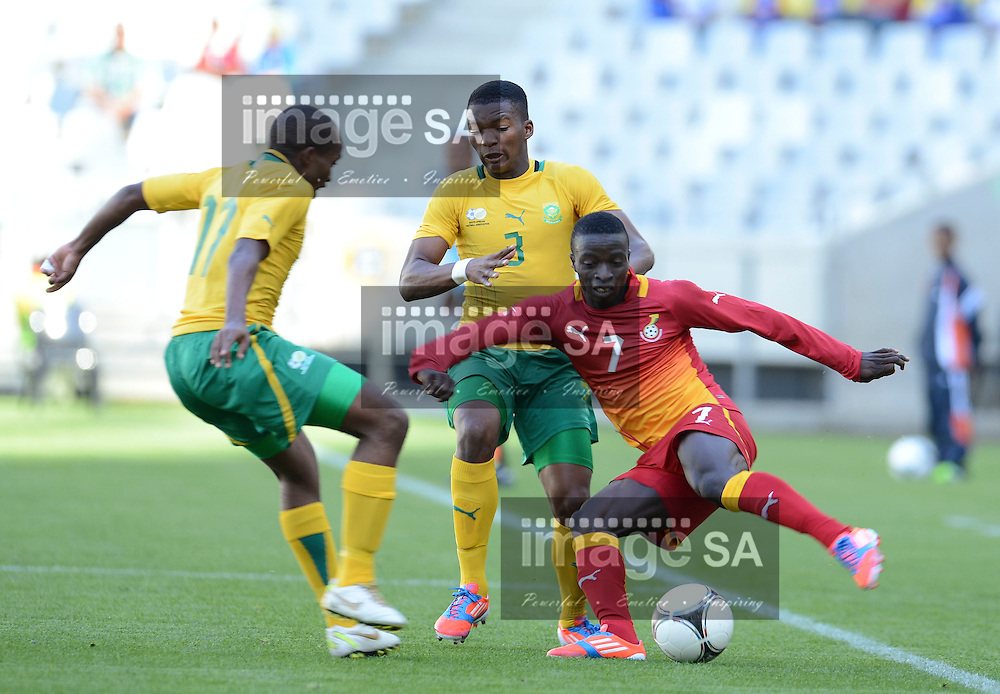 CAPE TOWN, SOUTH AFRICA: Sunday 27 May 2012, FRANK SARFO-GYAMFI of Ghana during the under 20 Cape Town International Soccer Challenge at the Cape Town Stadium..Photo by Roger Sedres/ImageSA
