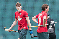 ROTTERDAM - Civicum - de Ijsel , Hockey playoffs , Hockey , Hockey club Leonidas , 21-06-2015 ,  Spelers van Civicum balen na de 0-1 tegen