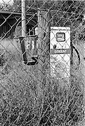 IPLM0004 , South Africa, Limpopo, June 2001. An abandoned fuel station in rural Limpopo province.