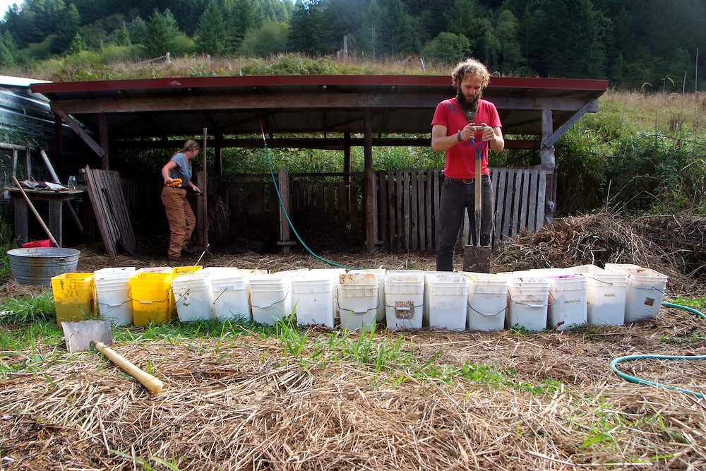 Life at Alpha Farm Intentional Community in Deadwood Oregon.