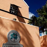 Bermuda, St. George's. Globe Hotel.
