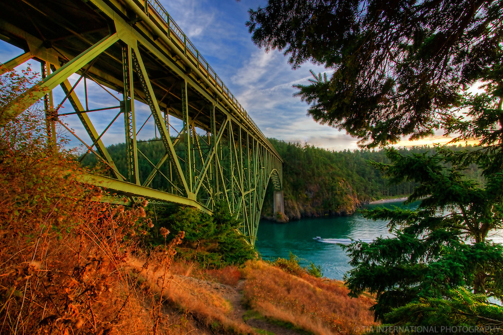 Deception Pass Bridge, Whidbey & Fidalgo Islands, Washington, USA