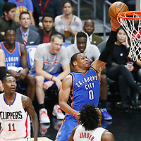 11-02 THUNDER AT CLIPPERS