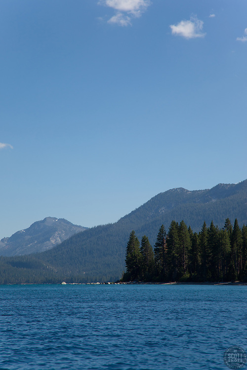 """""""Lake Tahoe 9"""" - This scene was photographed near the West shore of Lake Tahoe, California."""