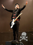 Billie Joe Armstrong of Green Day performs live on the main stage during day one of Reading Festival at Richfield Avenue on August 23, 2013 in Reading, England.  (Photo by Simone Joyner)