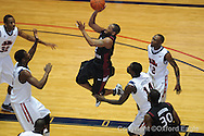 Ole Miss vs South Carolina's Devan Downey (2) on Wednesday, January 20, 2010 in Oxford, Miss.
